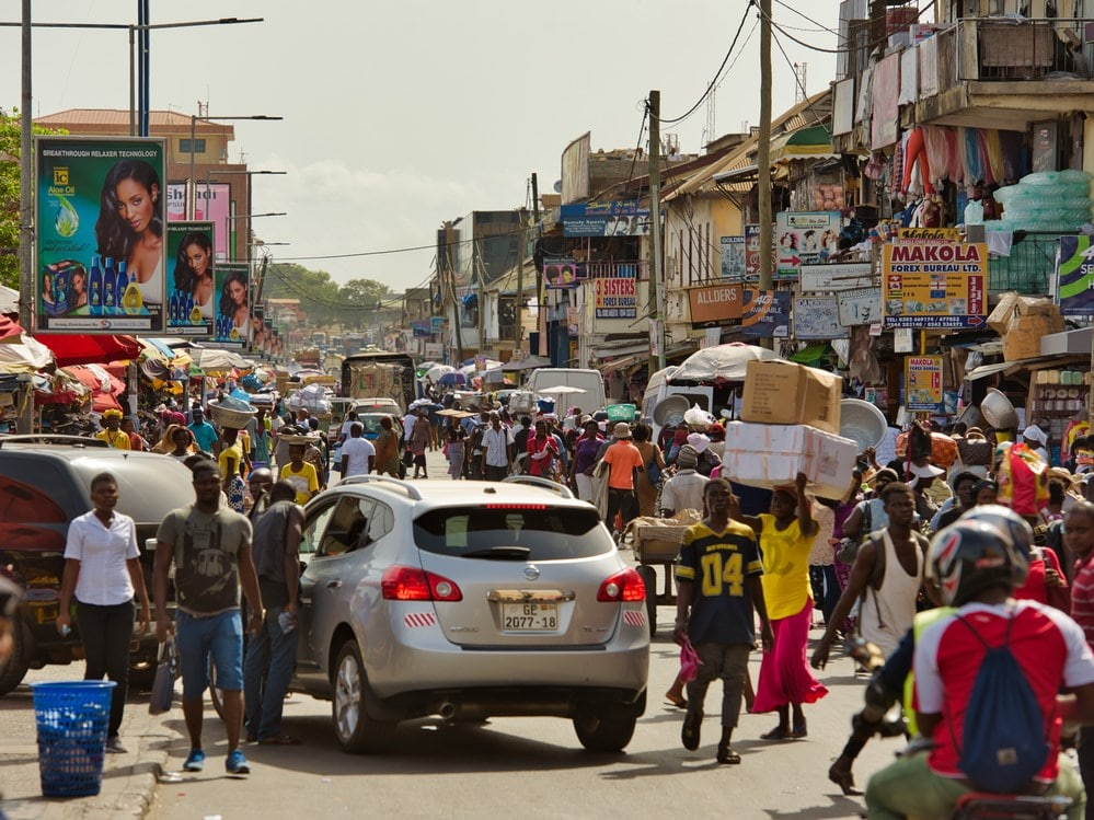 send mobile money to Ghana
