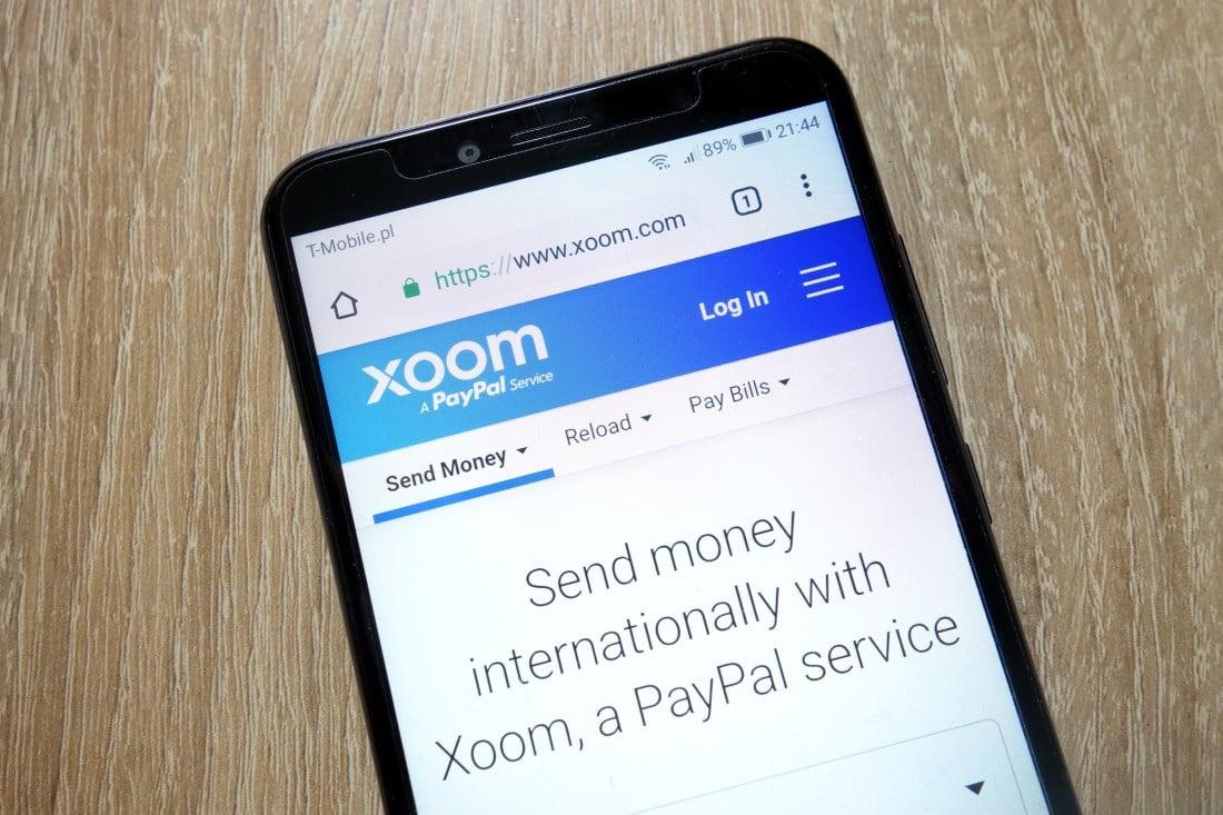 Xoom money transfer service